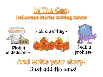 Halloween Short Story Writing Center