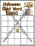 Halloween Sight Word BINGO