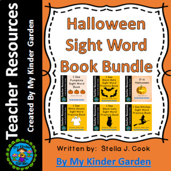 Halloween Sight Word Book Bundle