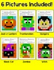 Halloween Activities Sight Words Mystery Pictures - Differ