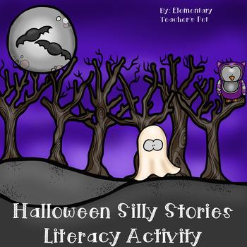 Halloween Silly Stories Literacy Activity