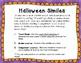 Halloween Simile Writing Activity