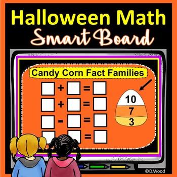 Halloween SMART Board Math:  Kinder and First