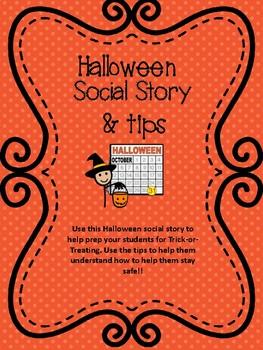 Halloween Social Story & Rules