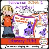 Halloween Song! 10 Days of Halloween Singable & Mini-Movie