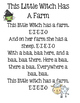 Halloween Song ~ This Little Witch Has A Farm