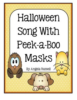 Halloween Song With Peek-A-Boo Masks