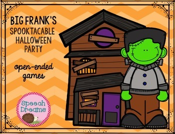 Halloween Speech Therapy {open-ended games for speech/lang
