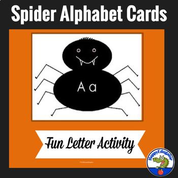Spider Alphabet Letters