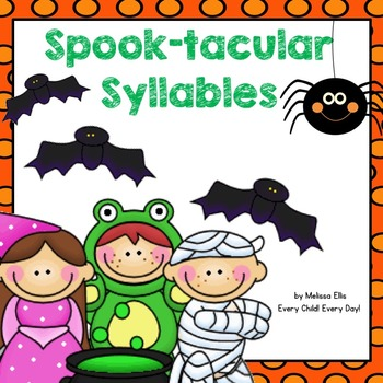Halloween Spook-tacular Syllables