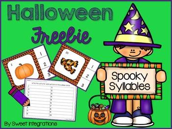 Halloween Spooky Syllables