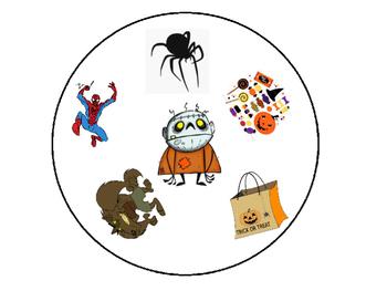 Halloween Spot It Game