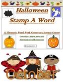 Halloween Stamp A Word - Word Work Center or Literacy Center