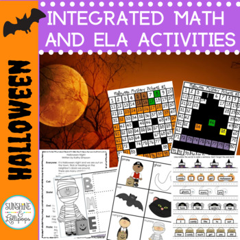 Halloween Stations or Centers Common Core Aligned
