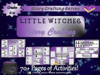 Halloween Story Crafting Little Witches Creative & Narrati