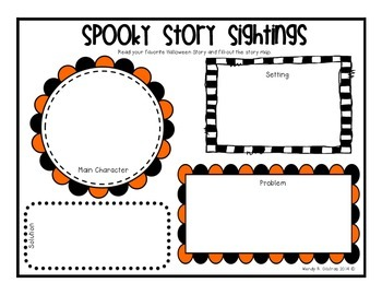 Halloween Story Map