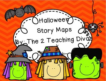 Halloween Story Maps By The 2 Teaching Divas