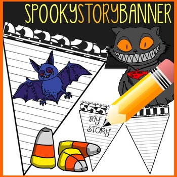 Halloween Story Writing Activity