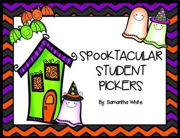 Halloween Student Picker (ActivInspire Flipchart)