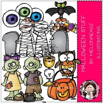Melonheadz: Halloween stuff clip art