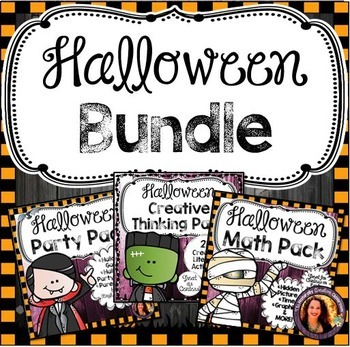 Halloween Activity Bundle:  Halloween Literacy, Halloween