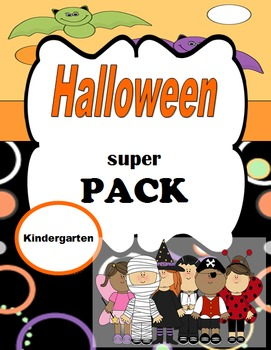 Halloween Super Pack! Writing, Math, and L.Arts Activities