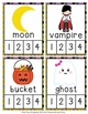 Halloween Syllables Count and  Clip Cards