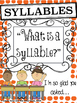 Halloween Syllables: Differentiated Phonological Awareness