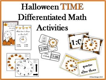 Halloween TIME Differentiated Activities