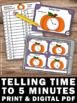 Thanksgiving or Halloween Math Center Games & Activities T