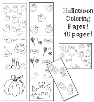 Halloween Templates/Coloring Pages