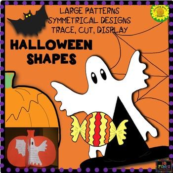 Halloween Shapes: Craft Patterns