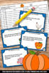 Halloween Literacy Book Runaway Pumpkin by Kevin Lewis Act