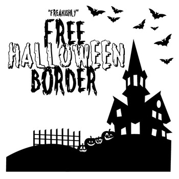 Freakishly Free Halloween Border