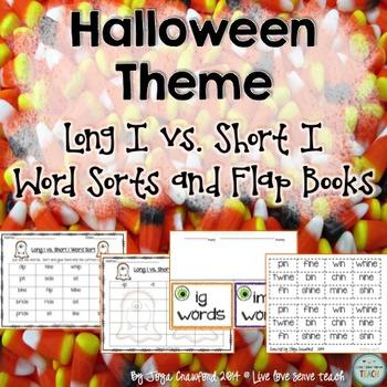 Halloween Word Sorts