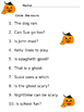 Halloween Themed ELA worksheets