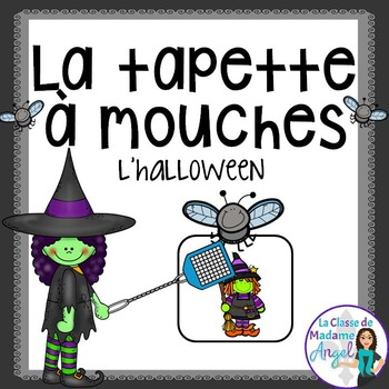 Halloween Themed Game in French - La tapette à mouches