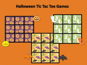 Halloween Tic Tac Toe Games