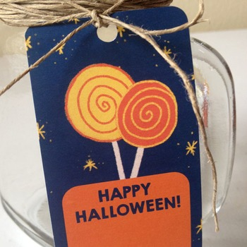 Halloween Treat Bag Tags / Goodie Bag Labels