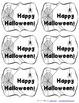 Halloween Test Motivation and Staff - Teacher Thank You Ta
