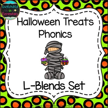 Halloween Treats Phonics: L-Blends Pack