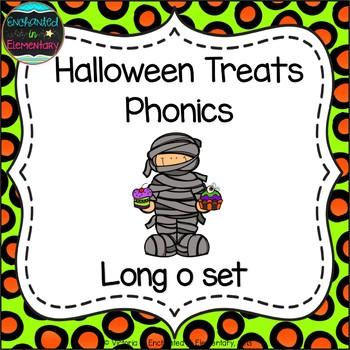 Halloween Treats Phonics: Long O Pack