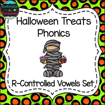Halloween Treats Phonics: R-Controlled Vowel Words Pack