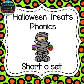 Halloween Treats Phonics: Short O Pack