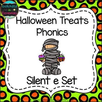 Halloween Treats Phonics: Silent E Words Pack
