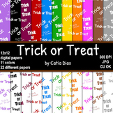 Halloween - Trick or Treat - 22 Digital Papers