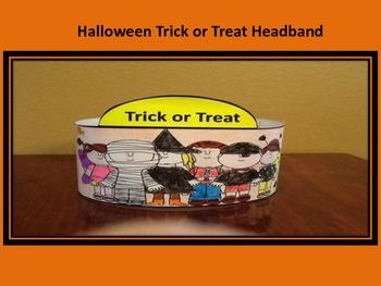 Halloween Trick or Treat Hat
