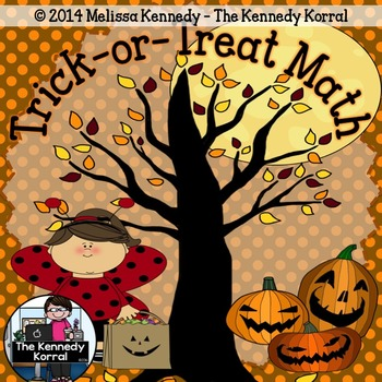 Halloween Math {Word Problems, Addition, Time, Comparing N