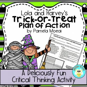 Halloween Trick-or-Treat Plan of Action (Lola and Harvey)
