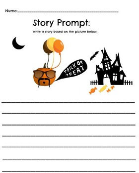 Halloween Trick or Treat Story Prompt